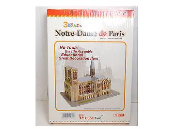 CubicFun 3D Puzzle Notre Dame de Paris  74  Teile Neu OVP