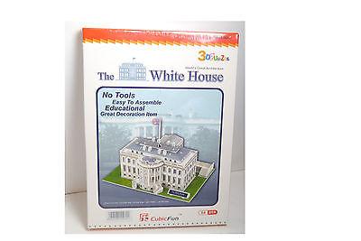 CubicFun 3D Puzzle Weiße Haus White House  64  Teile Neu OVP