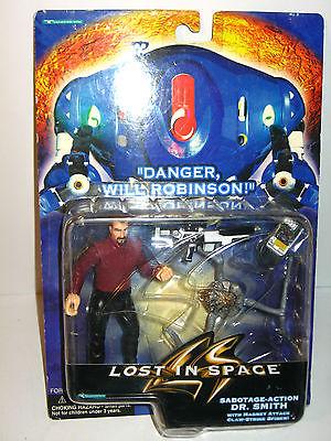 LOST IN SPACE Dr. Smith Sabotage Action Actionfigur TRENDMASTERS ca.12cm NEU (L)