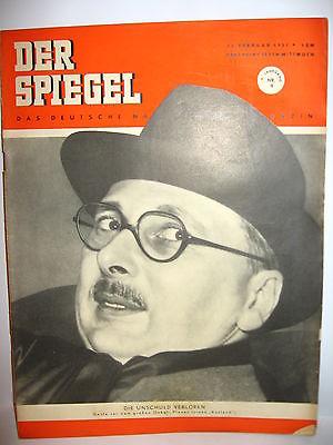 Der spiegel 9 02 1951 zeitschrift heft pleven k21 for Der spiegel aktuelles heft