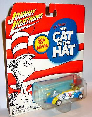 JOHNNY LIGHTNING Dr. Seuss CAT IN THE HAT Topper Wasp Spielzeugauto 8cm /K11