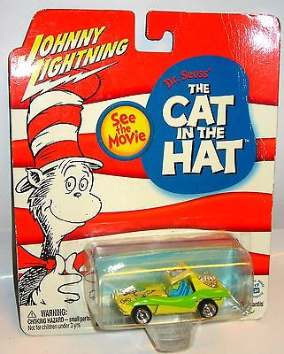 JOHNNY LIGHTNING Dr. Seuss CAT IN THE HAT Sand Stormer Spielzeugauto 6cm /K11