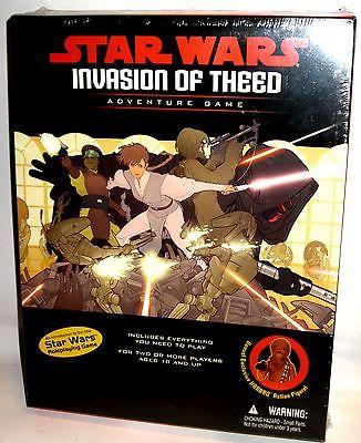 STAR WARS Invasion of Theed Rollenspiel / Pen & Paper + Actionfigur OVP (L)