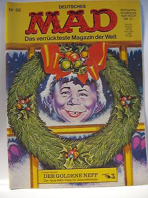 Deutsches   MAD   Nr. 68    Comic    Das verrückteste Magazin der Welt  ( L )