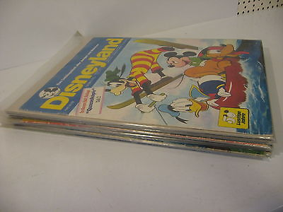 13 verschiedene Disneyland Hefte  aus 1973  Zustand : 1  -  3 ( K 29 )