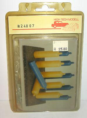 HIGH TECH MODELL Große Gasflaschen Sauerstoffflaschen 12 Stk. Metall *K50#G
