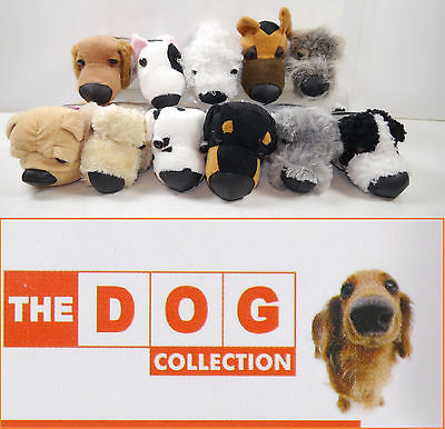 DOG COLLECTION 11er Stofftier plush Set Dalmatiner Collie Pudel EAGLEMOSS (K17)