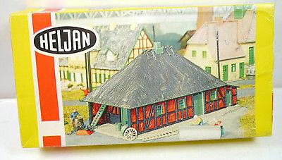HELJAN B 210 Alte Schmiede Gebäude Plastik Modellbausatz H0 (K70)