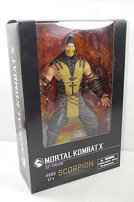 MORTAL KOMBAT X Scorpion Actionfigur MEZCO TOYZ ca.30cm NEU (L)