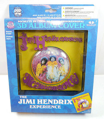 THE JIMI HENDRIX EXPERIENCE 3D Album Cover Bild McFarlane 17x17cm NEU (L)