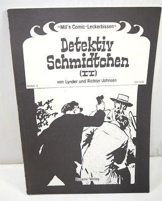 DETEKTIV SCHMIDTCHEN II Band 3 Comic SC Johnsen BUZEMI VERLAG (B5)