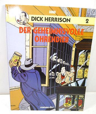 DICK HERRISON Band 2 - Der Geheimnisvolle Ohrendieb SC COMIC ART Savard (L)