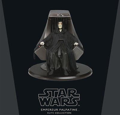 STAR WARS Elite Collection - Emperor Palpatine Figur ATTAKUS Limitiert Neu (L)
