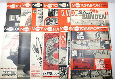 ILLUSTRIERTER MOTORSPORT Heft 1 - 12 / 1978 Zeitschrift Sportverlag DDR (WRZ)