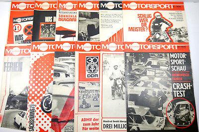 ILLUSTRIERTER MOTORSPORT Heft 1 - 12 / 1979 Zeitschrift Sportverlag DDR (WRZ)