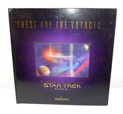 STAR TREK Three-Dimensional Album Pop Up Buch 1966-1996 Kurts POCKET BOOKS (WR5)