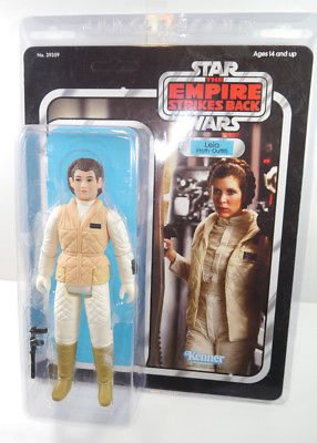 STAR WARS Jumbo Series - Große Leia Actionfigur  Hoth Outfit KENNER Neu (L)