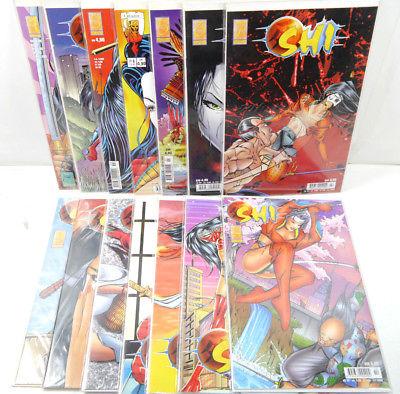 SHI Heft 1 - 14 / 1998 1999 Comic INFINITY VERLAG Tucci (WR2)