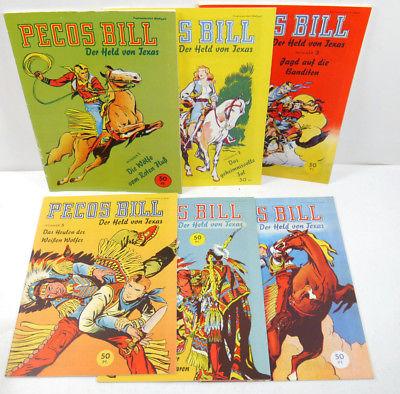 PECOS BILL Der Held von Texas - Heft 1 - 7 Comic HETHKE (WR2)
