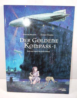 DER GOLDENEN KOMPASS Band 1 Comic Softcover CARLSEN Melchior , Oubrerie (L)