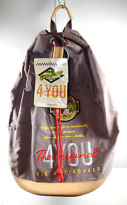 4YOU 1127 Großer Rucksack Tasche Seesack Sack braun Neu (F2)