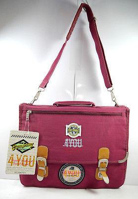 4YOU Company 1114 Aktentasche Umhängetasche Tasche dunkelrot rot Neu (F2)