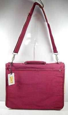 4YOU Company 1114 Aktentasche Umhängetasche Tasche dunkelrot rot Neu (F2) 2