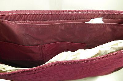 4YOU Company 1114 Aktentasche Umhängetasche Tasche dunkelrot rot Neu (F2) 4