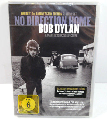 BOB DYLAN No Direction Home DELUXE ANNIVERSARY EDITION 2-Disc Set Neu (WR8)