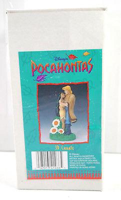 Disney POCAHONTAS - mit John Smith 3D Kerze Candle ca.15cm NEU (K5) K.