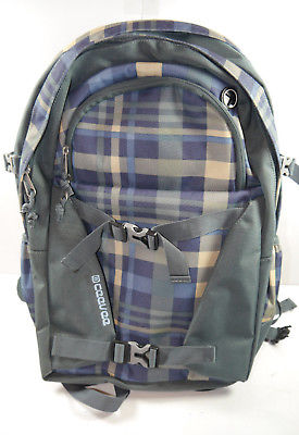 CEEVEE 30013 Backpack Brighton Vogue Caro blau Rucksack NEU (F10)