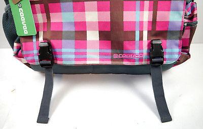 CEEVEE 30011 Messengerbag Umhängetasche Vogue Caro pink blau NEU (F15) 1