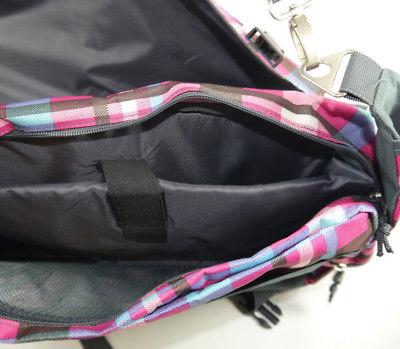 CEEVEE 30011 Messengerbag Umhängetasche Vogue Caro pink blau NEU (F15) 2