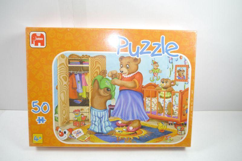 Jumbo  Puzzle Bärchen  50 Teile   NEU   OVP  ( B5 )A