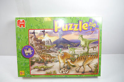 Jumbo  Puzzle Dino Dinosaurier 01215B  150  Teile   NEU   OVP  ( B8 )