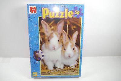 Jumbo  Puzzle Häschen  01278C  50  Teile   NEU   OVP  ( B7 )