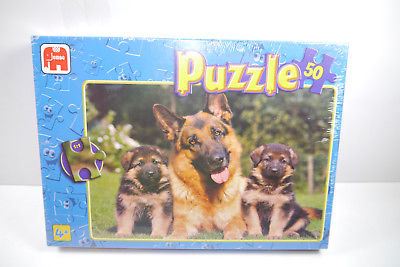 Jumbo  Puzzle Schäferhunde  01278 D  50  Teile   NEU   OVP  ( B7 )