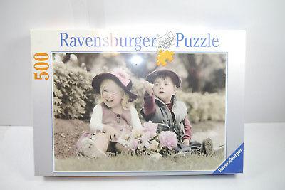 Ravensburger  Puzzle 142392 Mädchen und Junge 500  Teile   NEU   OVP  (F3)