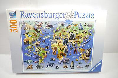 Ravensburger  Puzzle  bedrohte Tierarten 500 Teile  NEU   OVP  (F3)