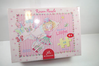 Puzzle Prinzessin Lillifee Die Spiegelburg  48 Teile 85 x 70 cm  NEU   OVP  (F3)