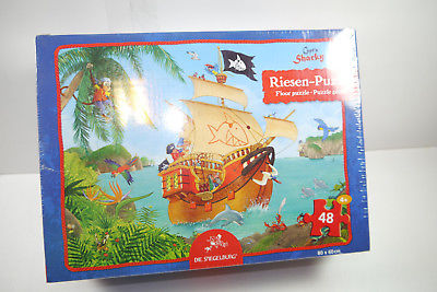 Puzzle Capt´n Sharky Die Spiegelburg  48 Teile 80 x 60 cm  NEU   OVP  (F3)