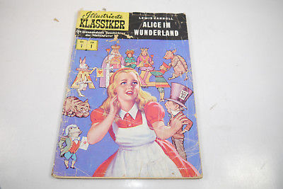 Illustrierte Klassiker  Nr. 1 Alice im Wunderland  1. Aufl.  bsv  Z : 4 ( LR )