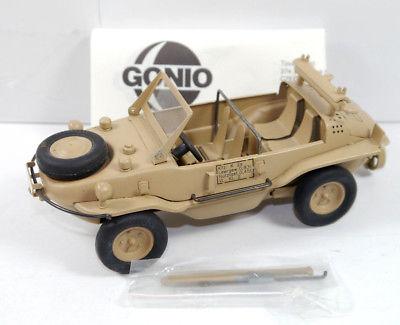GONIO VW-166 Schwimmwagen West East Blech Militär Modellauto 1:24 (K63)