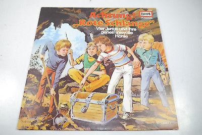 Achtung ! Rote Schlange Jugend Europa Schallplatte  LP  Z : gut   (WR1)
