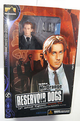 RESERVOIR DOGS Series 2 - Mr. Orange Tim Roth Actionfigur PALISADES ca.30cm (L)