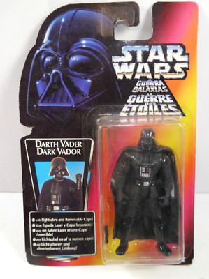 STAR WARS Power of the Force - Darth Vader Actionfigur KENNER Neu (L)