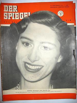 DER SPIEGEL # 38 (9/1951) Zeitschrift Heft / Prinzessin Margaret Rose (K21)