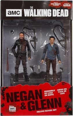 THE WALKING DEAD Negan & Glenn Actionfigur DELUXE BOXED SET McFarlane NEU (L)