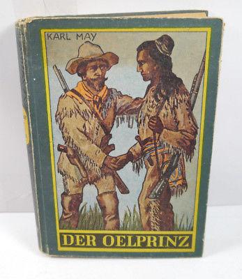 DER OELPRINZ Buch Roman HC KARL MAY Gesammelte Werke GLOBUS VERLAG (WR5)