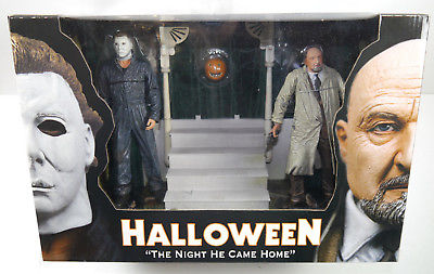 HALLOWEEN The Night he cam Home DELUXE BOX Michael Myers & Loomis NECA Neu (L)